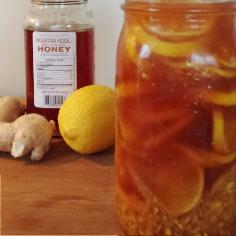 Ginger Lemon Cough Syrup Recipe