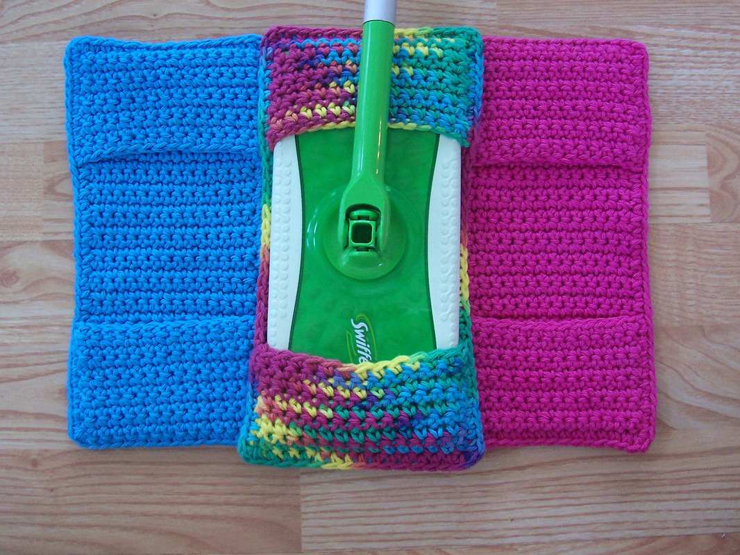 Handcrafted Reusable Swiffer Covers